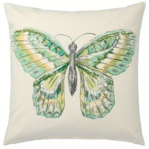 IKEA Butterfly pillow covers pair